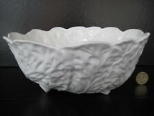 COALPORT COUNTRYWARE FRUIT SALAD SERVING BOWL WHITE ENGLISH BONE CHINA WEDGWOOD