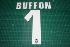 Juventus 12/13 #1 BUFFON Homekit Nameset Printing