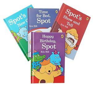 Spot the Dog 4 Fun Story Books Young Children Kid inc Happy Birthday New