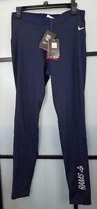 NIKE NFL Los Angeles RAMS Navy Legend DriFit Training Women's XL Tights Pants