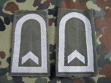 Bundeswehr  Schulterklappen Feldwebel Oliv