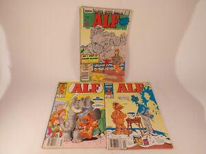 ALF Comic Books Lot of 3 Including Annual 1