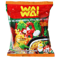 WAI WAI THAI ORIENTAL STYLE INSTANT WHEAT NOODLES - 30 PACKETS