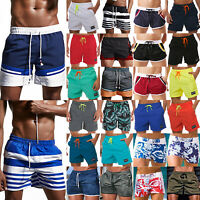 Men Swimming Board Shorts Swimwear Trunks Beach Summer Casual Sport Short Pants
