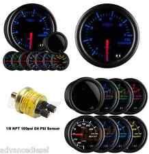 GlowShift Tinted 7 Color BAR Oil Pressure Gauge GS-T704-BAR