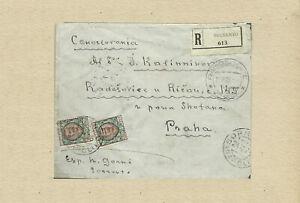 Gorki, Maxim Autograph authentic handwritten envelope very rar with old postcard