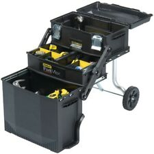 STANLEY 020800R FATMAX 4-in-1 Mobile Work Station Tool Box NEW