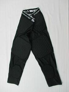 McDavid Padded Compression Pants Men's Black Nylon NEW Multiple Sizes