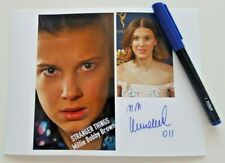 MILLIE BOBBY BROWN AUTOGRAPH WITH PEN COMIC CON SEPTEMBER 2019 PORTUGAL