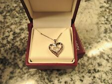 Helzberg Diamonds I Carry Your Heart Necklace Sterling Silver Valentines