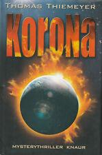 KORONA - Mysterythriller mit Thomas Thiemeyer - BUCH