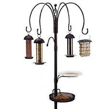 Gardman Garden Complete 4 Way Wild Bird Feeding Feeder Station Feeders Pole Kits