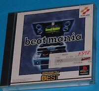 Beat Mania - Sony Playstation - PS1 PSX - JAP