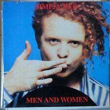 SIMPLY RED LP MEN AND WOMEN 1987 USA VG++/VG++ OIS