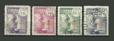 Spain 1940 Fight Against Tuberculosis Stamps - VG/F - Used