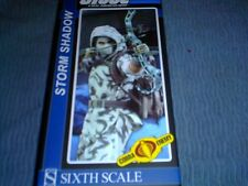 Sideshow 1/6 Scale G.I. Joe Storm Shadow Ninja Collection Figure Snow Cam/Out Fit