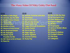 Nitty Gritty Dirt Band 3 CD Set The Many Sides Of Pop Folk Country Rock + Bonus