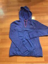 Women's  Blue ASICS 1/4 Zip  - Long Sleeve Active Jacket Size L Large