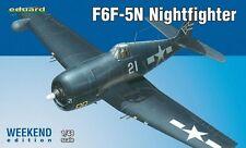 Eduard fin de semana 1:48 escala F6F-5N Hellcat, Nightfighter EDK84133 -