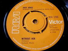 """JACK JONES - WITHOUT HER    7"""" VINYL"""