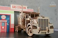 UGears Heavy Boy Truck VM-03 mechanical wooden model KIT 3D puzzle Assembly