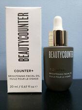 Beautycounter Counter+ No 1 Brightening Facial Oil 0.67 oz - New in Box!