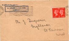1940 Guernsey Sg 480 1d scarlet on Large Piece