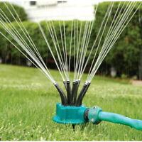 360°Garden Sprinkler Auto Lawn Irrigation Water Sprinkler Spray Nozzle System od