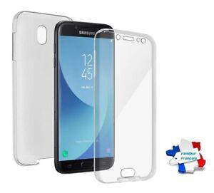 Coque Silicone Gel Protection Intégrale 360° ~ Samsung Galaxy J7 / J7 Pro (2017)