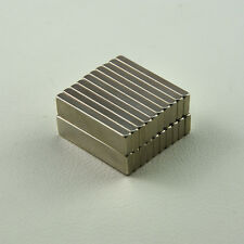 Hot Sale 50pcs Strong block 40X10X4mm N50 Rare Earth Neodymium Magnets Art Craft