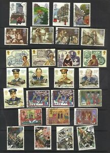 GB - GREAT BRITAIN 1985 - 1987 - 6 COMPLETE SETS GOOD USED See Scans