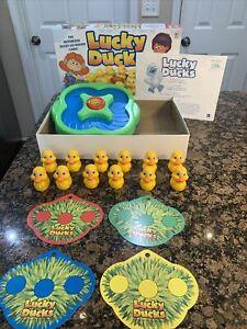 Lucky Ducks Game Milton Bradley complete w/ box VGC motorized age 3+ color match