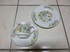 assiette ,soucoupe et tasse à café porcelaine GLORIA Bavaria handwork bayreuth