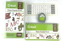 Provo Craft Cricut Art Cartridge 2001253 TYPE CANDY FONT 700 Images Link Unknown
