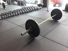 Cannons UK Rubber Flatline Free weight mats 1m x 1m x 20mm Gym Freeweight mat
