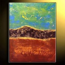 Huge ORIGINAL Abstract Earthy Painting Upscale - Modern Art by Molly