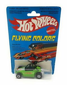 Hot Wheels 9088 Rock Buster grün Flying Colors Blisterkarte International Malays