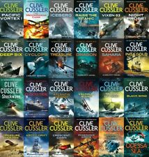 Clive Cussler's ebook collection lot of books (Epub/Mobi) email download