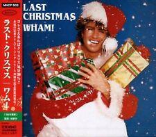 WHAM ! GEORGE MICHAEL LAST CHRISTMAS 2 TRACKS CD Free Ship w/Tracking# New Japan
