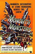 THE MONOLITH MONSTERS DVD B/W