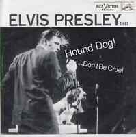 "ELVIS PRESLEY Hound Dog & Don't be cruel PIC SLEEVE Red Vinyl 45 7"" record NEW"