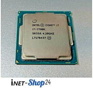 Intel Core i7-7700K CPU - 4,2GHz - Sockel 1151 - Kaby Lake-S SR33A