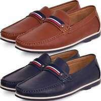 Mens Slip On Casual Shoe Loafers Casual Durable Moccasins Driving Boat Deck 7-12