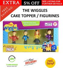 The Wiggles Birthday Cake Toppers Decoration Topper Pretend Toy Figurine BOXED