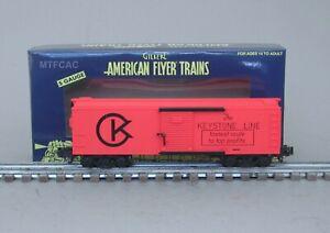 Lionel American Flyer 6-48393 Keystone Box Car