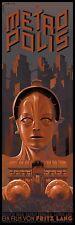 Metropolis Fritz Lang 1927 vintage style movie poster print B14