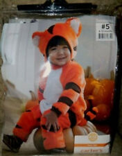 Carter's TEENY TIGER Costume 6-12 months NWT Orange black cat plush Halloween