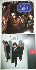 "2 x Aswad 7"" VINYL SINGLES. Beauty's Only Skin Deep and Don't Turn Around"