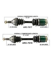 Arctic Cat 250 300 400 500 4X4 Frt L & R CV Axle Shaft Complete New ARC7017 19