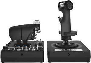 Logitech G X56 H.O.T.A.S. Schubregler StickController 2 USB anschluss #27-2079-J